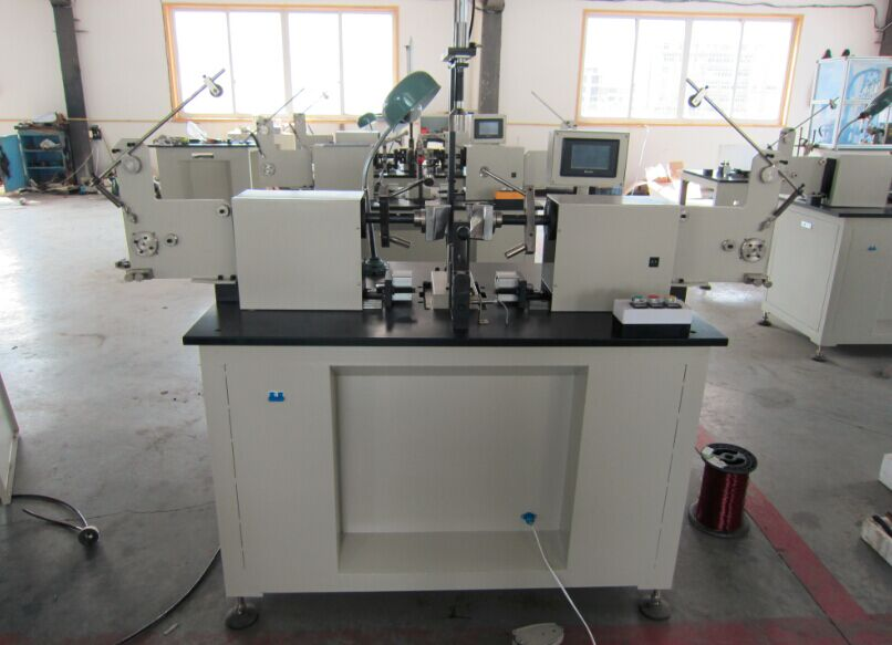 Armature coil winding equipment for repair motors