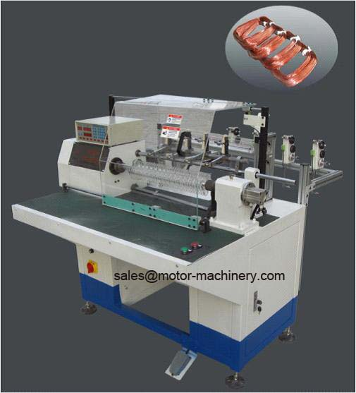 Muti-head Stator coil making winding manufactuer