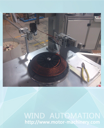 IH disk winder for concentric